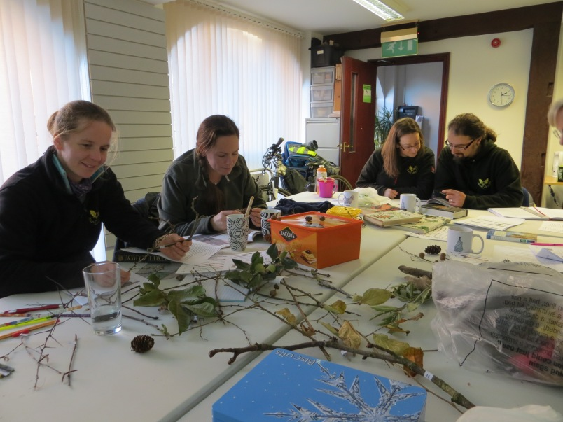 winter ecology courses, ecology training